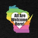 Wisconsin - All Are Welcome Here T-Shirt
