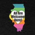 Illinois - All Are Welcome Here T-Shirt