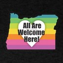 Oregon - All Are Welcome Here T-Shirt