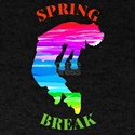 Spring break Squad mermaid and unicorn T-Shirt