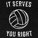 It serves you right t-shirt design T-Shirt
