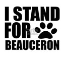 I Stand For Beauceron Dog D Shirt