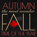 Autumn the Most WonderFALL Time of the Year T-Shir