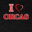 I Love Orcas T-Shirt