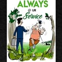 always at your service T-Shirt