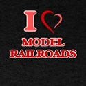 I Love Model Railroads T-Shirt