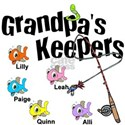 Email me to customize Grandpa's Keepers T-Shirt