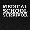 Medical School Survivor Doctor Graduate Gr T-Shirt