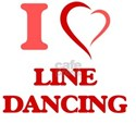 I Love LINE DANCING T-Shirt