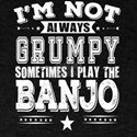 Grumpy Banjo Bluegrass Player Cool Gift T-Shirt