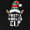 Postal worker Elf Christmas Holidays Xmas T-Shirt