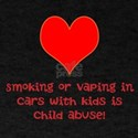 Smoking or vaping in cars with kids is child abuse