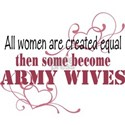 Army Wives Created Equal White T-Shirt