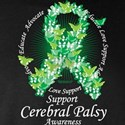 Cerebral Palsy Ribbon of Butterflies