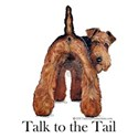 Airedale Talk to the Tail