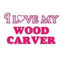I love my Wood Carver T-Shirt