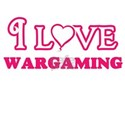 I Love Wargaming T-Shirt
