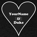 Black Heart Your Name and Duke T-Shirt