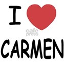 I heart carmen White T-Shirt