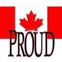 PROUD CANADIAN White T-Shirt