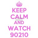 Keep Calm and Watch 90210 White T-Shirt
