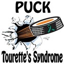 Puck Tourette's Syndrome Women's T-Shirt