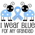 Grandad Light Blue Awareness White T-Shirt
