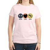 Peace Love Dive Women's Light T-Shirt