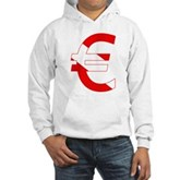 Scuba Flag Euro Sign Hooded Sweatshirt