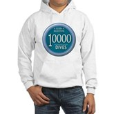 10000 Dives Milestone Hooded Sweatshirt