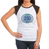 250 Logged Dives Women's Cap Sleeve T-Shirt