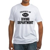 Diving Department Fitted T-Shirt