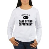 Cave Diving Department Women's Long Sleeve T-Shirt