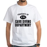 Cave Diving Department White T-Shirt