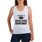 Rescue Diving Department Women's Tank Top