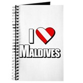 Scuba: I Love Maldives Journal