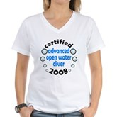 Certified AOW 2008 Women's V-Neck T-Shirt