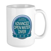 Certified AOWD 2008 Large Mug