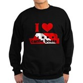 I Love Cattle Boats Sweatshirt (dark)