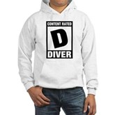 Rated D: Diver Hooded Sweatshirt