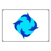 Dolphin Ring Banner