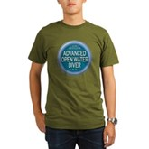 Certified AOWD Organic Men's T-Shirt (dark)