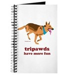 tripawds have more fun mousepad journal clock pillow apron and more
