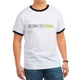 Born to EANx Enriched Air Scuba Diver Ringer Tee