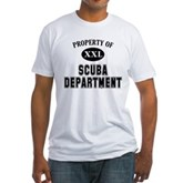 Scuba Department Fitted T-Shirt