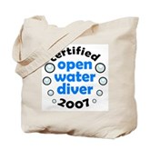 Open Water Diver 2007 Tote Bag